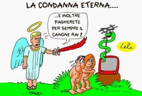 CANONE RAI NELLA BOLLETTA LUCE: CASINI IN VISTA