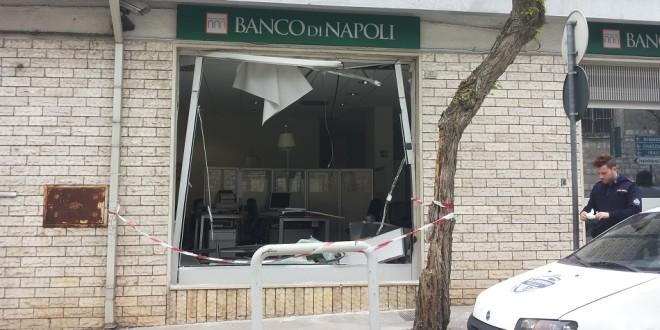 SRADICATO IL BANCOMAT DEL BANCO DI NAPOLI DI SANTERAMO