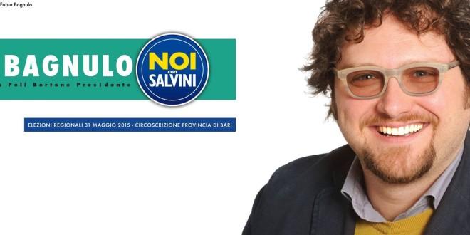 """""""NOI CON SALVINI"""" PRESENTA IL SUO CANDIDATO"""