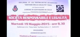 SOCIETA' RESPONSABILE E LEGALITA'