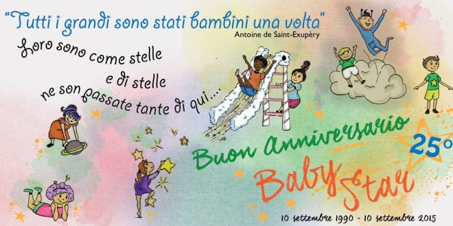 "BUON COMPLEANNO ""BABY STAR"""