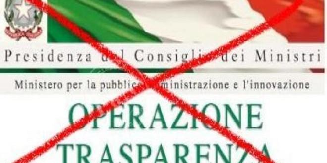 E' OBBLIGO LA PUBBLICAZIONE REDDITI AMMINISTRATORI