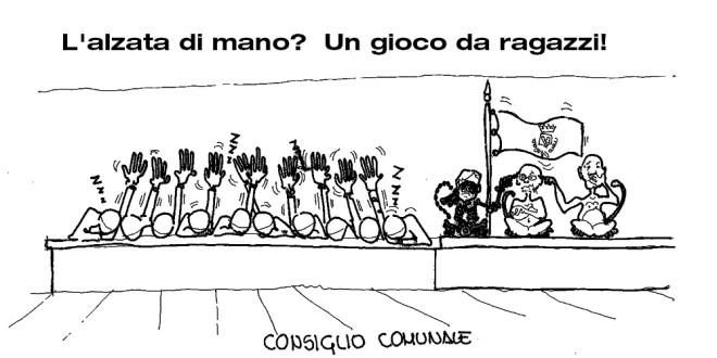MARTEDI' 3 NOVEMBRE CONSIGLIO COMUNALE