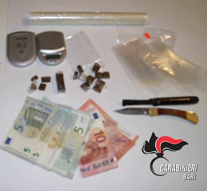 Santeramo la droga sequestrata1