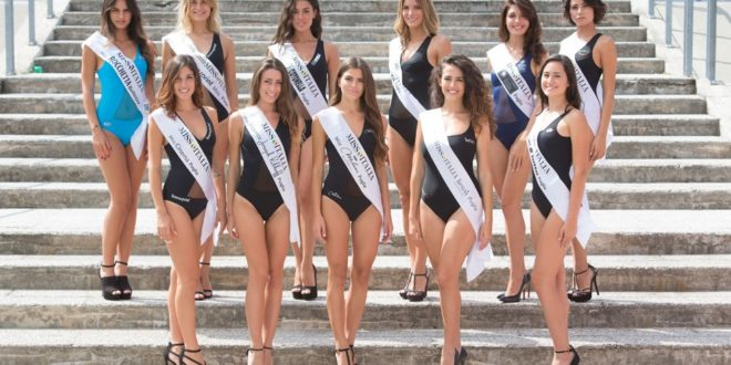 MISS ITALIA, IL TOUR PUGLIESE PROCEDE A GONFIE VELE!