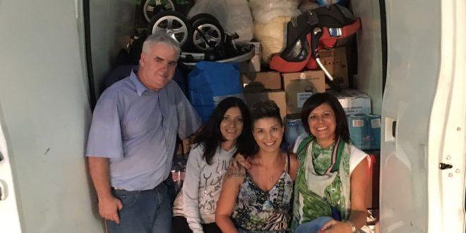 EMERGENZA TERREMOTO, GRANDE LA GENEROSITA' SANTERMANA
