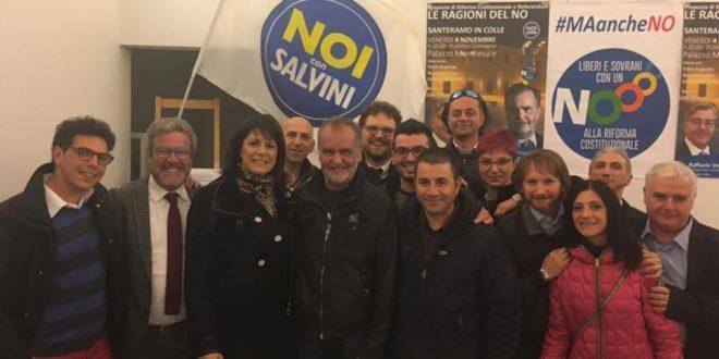 CALDEROLI A SANTERAMO, SODDISFAZIONE PER NOI CON SALVINI ED ÈPOLITIC@
