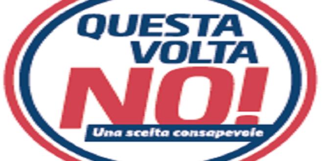 PUBBLICO DIBATTITO DI COR PER IL NO AL REFERENDUM