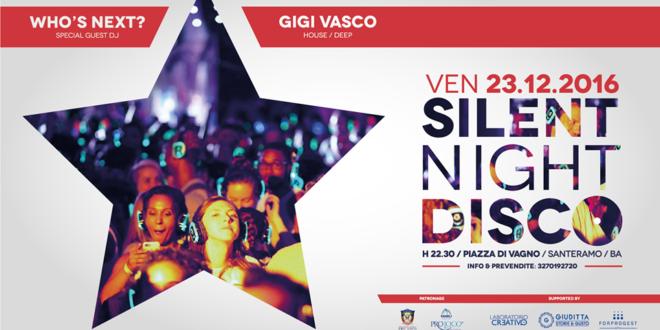 """DOMANI """"SILENT NIGHT DISCO"""", UNA FESTA CON LE CUFFIE"""