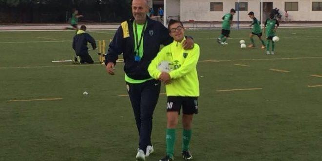 ALESSANDRO, IL PICCOLO CAMPIONE DI CALCIO FA GOAL AL PREGIUDIZIO!