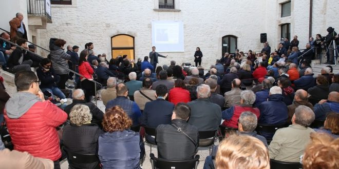 FABRIZIO BALDASSARRE E' IL CANDIDATO SINDACO DEL M5S DI SANTERAMO
