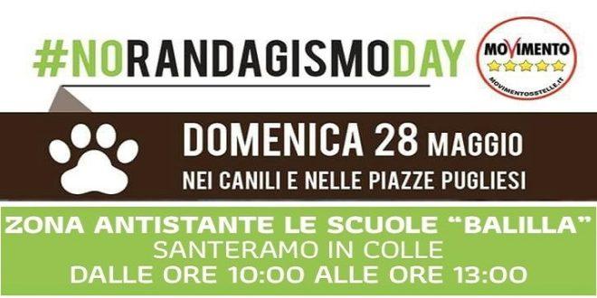 M5S Santeramo: No al Randagismo. Domenica, Agorà alle Balilla e canile ANPA aperto alle visite.