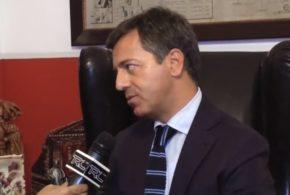 FABRIZIO BALDASSARRE SINDACO AI MICROFONI DI TRC