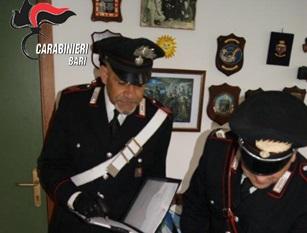 SANTERAMO, TROVATA COCAINA IN CASA