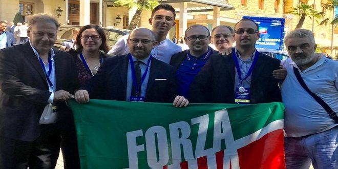 FORZA ITALIA SANTERAMO A FIUGGI