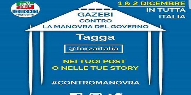 DOMENICA FORZA ITALIA CONTRO LA MANOVRA