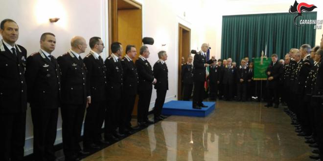 BARI. IL COMANDANTE GENERALE GIOVANNI NISTRI IN VISITA AL COMANDO LEGIONE PUGLIA ED AI REPARTI DELLA PROVINCIA.