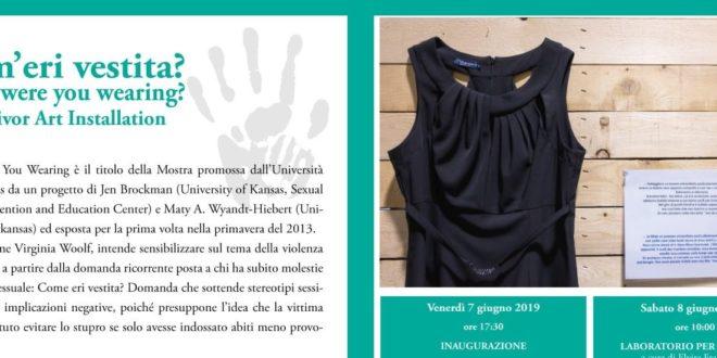"""""""Com'eri vestita?"""" a Palazzo Marchesale dal 7 al 9 giugno"""