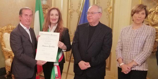 FRANCO PORFIDO UFFICIALE AL MERITO DELLA REPUBBLICA ITALIANA