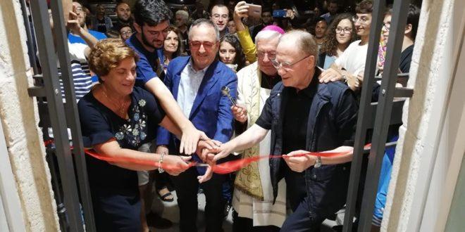 L'ARCIVESCOVO GIOVANNI RICCHIUTI INAUGURA ANSPI SANTERAMO