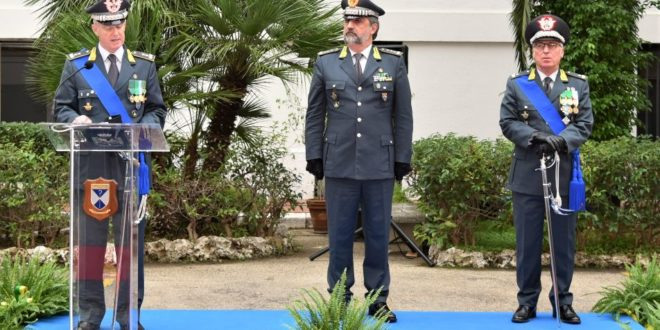 GUARDIA DI FINANZA: IL GENERALE DI DIVISIONE FRANCESCO MATTANA HA ASSUNTO L'INCARICO DI COMANDANTE REGIONALE PUGLIA.