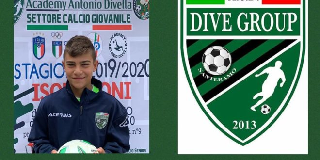 DAVIDE BIANCHI DELLA DIVE GROUP SANTERAMO AL TORNEO UNDER 13 DUBAI INTERNATIONAL FOOTBALL CUP 2020