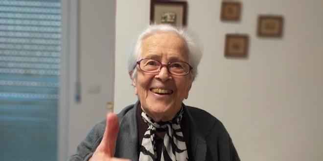 "ALLA ""SIMONE -CALABRESE""  ISA MASSARO  SPEGNE 100 CANDELINE"