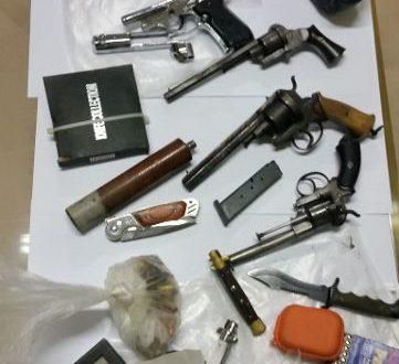 EMESSI 24 AVVISI DI CONCLUSIONE DELLE INDAGINI PER ATTIVITA' DELLA POLIZIA DI STATO SU TRAFFICO D'ARMI E DROGA