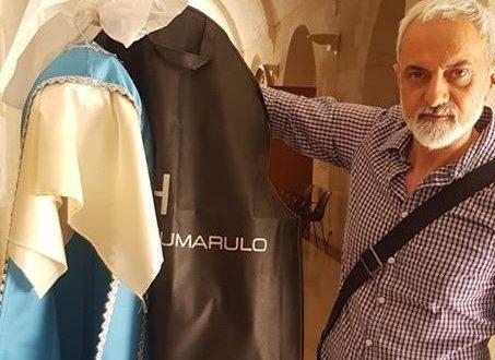 IL MANTELLO  DELLA MADONNA DI PICCIANO DONO DELLA DEVOZIONE DEI SANTERMANI