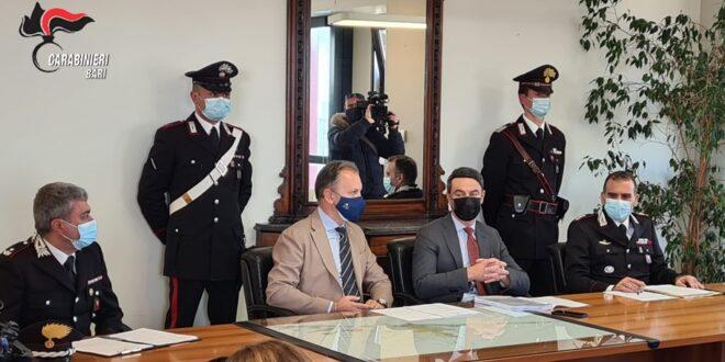 """Santeramo in Colle: operazione """"Abracadabra"""" dei Carabinieri di Altamura. Eseguite 9 misure cautelari per detenzione e spaccio di sostanze stupefacenti."""