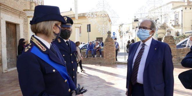 MATERA -SANTO PATRONO: LA POLIZIA CELEBRA SAN MICHELE ARCANGELO